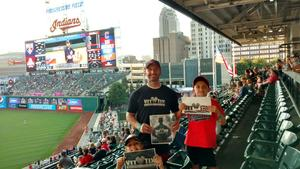 Click To Read More Feedback from Cleveland Indians vs. Tampa Bay Rays - MLB