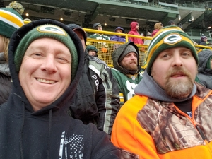 Kurt attended Green Bay Packers vs. Arizona Cardinals - NFL on Dec 2nd 2018 via VetTix