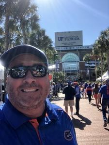 Brian attended Florida Gators vs. Idaho Vandals - NCAA Football on Nov 17th 2018 via VetTix