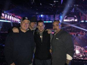 leo attended Bellator 208 - Fedor vs. Sonnen - Live Mixed Martial Arts on Oct 13th 2018 via VetTix