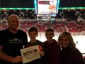 Click To Read More Feedback from Portland Winterhawks vs. Seattle Thunderbirds - WHL - Suite Level