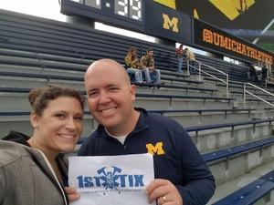 Matthew attended University of Michigan Wolverines vs. Maryland Terrapins - NCAA Football on Oct 6th 2018 via VetTix