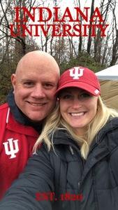 Shane attended Indiana Hoosiers vs. Purdue Boilermakers - NCAA Football - Time TBA on Nov 24th 2018 via VetTix