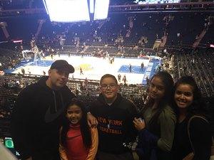 DARWIN attended New York Knicks vs. Brooklyn Nets - NBA on Oct 12th 2018 via VetTix