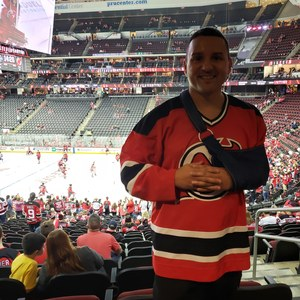 Jose attended New Jersey Devils vs. Washington Capitals - NHL on Oct 11th 2018 via VetTix