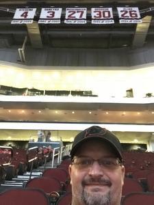 Goodwin attended New Jersey Devils vs. Washington Capitals - NHL on Oct 11th 2018 via VetTix