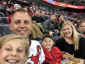Donald attended New Jersey Devils vs. Washington Capitals - NHL on Oct 11th 2018 via VetTix