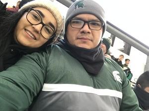 Marco attended Michigan State Spartans vs. Rutgers Scarlet Knights - NCAA Football on Nov 24th 2018 via VetTix