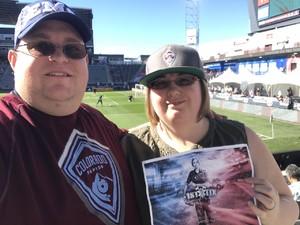 Ryan attended Colorado Rapids vs. FC Dallas - MLS on Oct 28th 2018 via VetTix