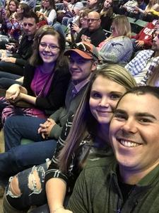 Gary attended Chris Young: Losing Sleep World Tour 2018 - Country on Nov 3rd 2018 via VetTix