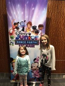 Rob attended Disney Junior Dance Party Tour on Nov 7th 2018 via VetTix