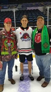 Steven attended Rockford Icehogs vs. San Antonio Rampage - AHL on Dec 2nd 2018 via VetTix