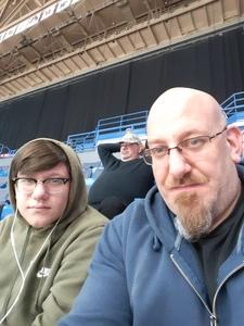 Joseph attended Hartford Wolf Pack vs. Charlotte Checkers - AHL on Dec 1st 2018 via VetTix