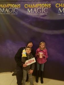 Nicholas attended Champions of Magic - Denver on Nov 17th 2018 via VetTix