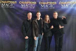 Tyler attended Champions of Magic - Denver on Nov 18th 2018 via VetTix