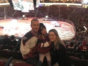 Sean attended Arizona Coyotes vs. Carolina Hurricanes - NHL on Nov 2nd 2018 via VetTix