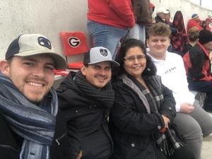 Brandon attended University of Georgia vs. Georgia Tech - NCAA Football on Nov 24th 2018 via VetTix