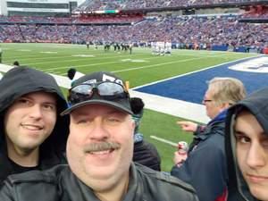 William attended Buffalo Bills vs. Jacksonville Jaguars - NFL on Nov 25th 2018 via VetTix