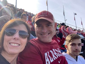 James attended University of Alabama Crimson Tide vs. The Citadel - NCAA Football on Nov 17th 2018 via VetTix