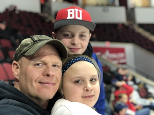 David attended Boston University Terriers vs. UMASS Lowell River Hawks - NCAA Men's Hockey on Dec 7th 2018 via VetTix