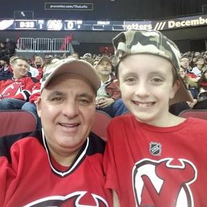 Peter attended New Jersey Devils vs. Detroit Red Wings - NHL on Nov 17th 2018 via VetTix