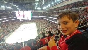 Maureen attended New Jersey Devils vs. Detroit Red Wings - NHL on Nov 17th 2018 via VetTix