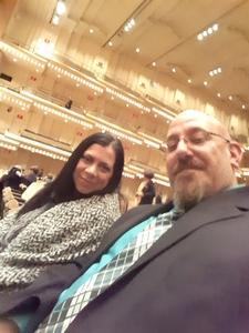 Joseph attended Handels Water Music - Presented by the New York Philharmonic on Nov 23rd 2018 via VetTix