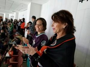 Christina attended Anaheim Ducks vs. Toronto Maple Leafs - NHL Antis Roofing Community Corner on Nov 16th 2018 via VetTix