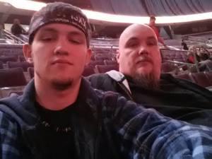 Randy attended 97. 9 Wgrd Presents Breaking Benjamin and Five Finger Death Punch - Alternative Rock on Nov 26th 2018 via VetTix