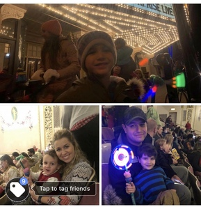 Martin attended Peppa Pig Live! on Nov 27th 2018 via VetTix
