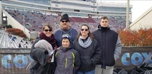 Brian attended Virginia Tech University Hokies vs. Virginia Cavaliers - NCAA Football on Nov 23rd 2018 via VetTix