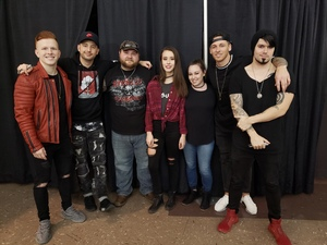 Sean Kocher attended 100. 3 the Edge Presents Five Finger Death Punch and Breaking Benjamin - Heavy Metal on Dec 1st 2018 via VetTix