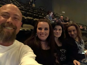 Rachel attended 97. 9 Cpr Rocks Presents Five Finger Death Punch and Breaking Benjamin - Heavy Metal on Dec 3rd 2018 via VetTix