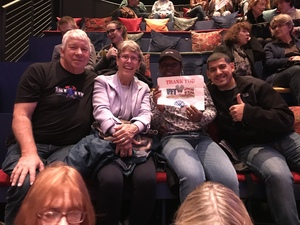 Joel attended Gloria - a Life, a New Off-broadway Play About the Life of Gloria Steinem on Nov 25th 2018 via VetTix