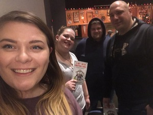 Bryan attended A Don't Hug Me Christmas Carol on Nov 30th 2018 via VetTix