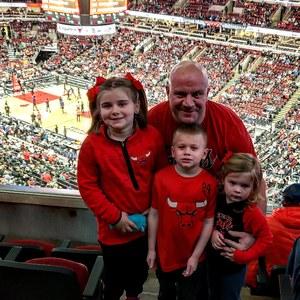 Albert attended Chicago Bulls vs. Phoenix Suns - NBA on Nov 21st 2018 via VetTix