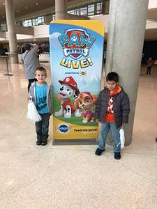 Jimmy attended Paw Patrol Live: Race to the Rescue - Presented by Vstar Entertainment on Dec 1st 2018 via VetTix
