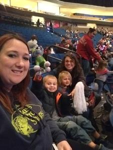 Brandi attended Paw Patrol Live: Race to the Rescue - Presented by Vstar Entertainment on Dec 2nd 2018 via VetTix