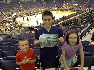 Robert attended Phoenix Suns vs. Indiana Pacers - NBA on Nov 27th 2018 via VetTix
