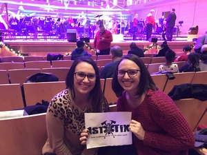 Jill attended Holiday Pops - Presented by National Philharmonic on Dec 7th 2018 via VetTix