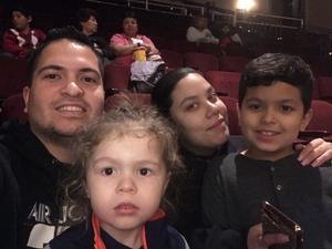 Daniel attended Cirque Dreams Holidaze on Dec 7th 2018 via VetTix