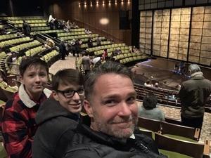 Greer attended Valley of the Heart Written by Luis Valdez on Dec 5th 2018 via VetTix