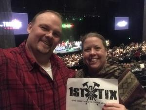 Martin attended The Brian Setzer Orchestra on Dec 10th 2018 via VetTix