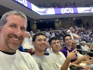 Jayson attended Grand Canyon University Lopes vs. Boise State - NCAA Men's Basketball on Dec 1st 2018 via VetTix