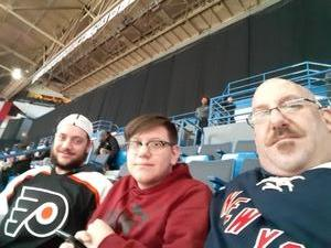 Joseph attended Hartford Wolf Pack vs. Springfield Thunderbirds - AHL on Jan 4th 2019 via VetTix