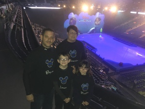 Bryan attended Disney on Ice: Mickey's Search Party on Dec 2nd 2018 via VetTix