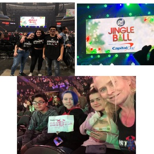 Jennifer attended 101. 3 Kdwb's Jingle Ball Presented by Capital One - Pop on Dec 3rd 2018 via VetTix