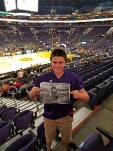 Robert attended Phoenix Suns vs. Sacramento Kings - NBA on Dec 4th 2018 via VetTix