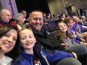 Jobe attended GCU Lopes vs. Utah Valley - Men's Basketball WAC - *See Notes on Jan 3rd 2019 via VetTix