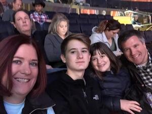 Meredith attended PBR - Unleash the Beast - Sunday Performance on Jan 6th 2019 via VetTix